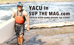 "Yacu in ""SUP THE MAG.com"""