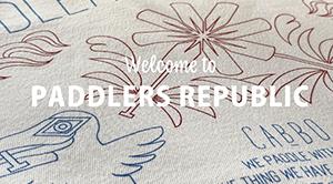 "New T-shirt! ""Paddlers Republic"""